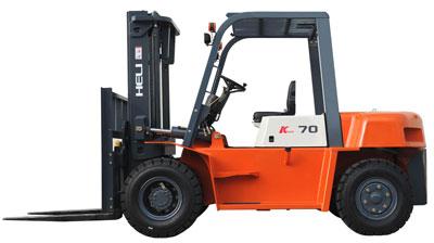 K系列5-7吨内燃平衡重式叉车