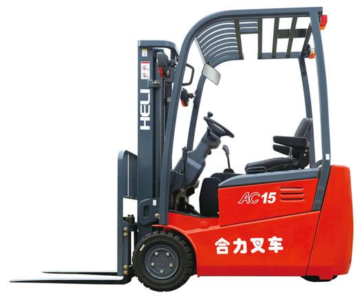 G系列1.5吨后驱三支点蓄电池平衡重式叉车
